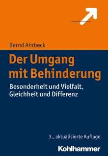 Bernd Ahrbeck: Der Umgang mit Behinderung, Buch