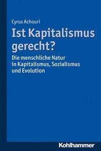 Cyrus Achouri: Ist Kapitalismus gerecht?, Buch