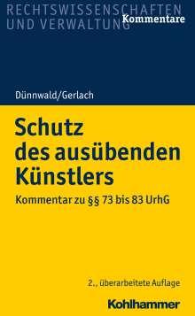 Rolf Dünnwald: Schutz des ausübenden Künstlers, Buch