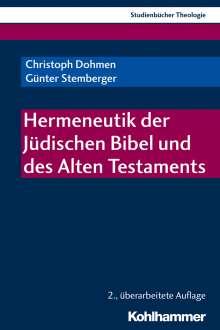 Christoph Dohmen: Hermeneutik der Jüdischen Bibel und des Alten Testaments, Buch