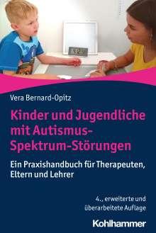 Vera Bernard-Opitz: Kinder und Jugendliche mit Autismus-Spektrum-Störungen, Buch