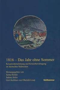 1816 - Das Jahr ohne Sommer, Buch