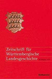 Zeitschrift für Württembergische Landesgeschichte, Buch