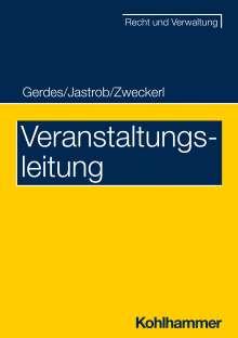 Holger Gerdes: Veranstaltungsleitung, Buch