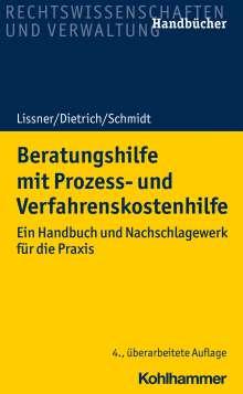 Stefan Lissner: Beratungshilfe mit Prozess- und Verfahrenskostenhilfe, Buch
