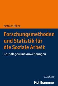 Mathias Blanz: Forschungsmethoden und Statistik für die Soziale Arbeit, Buch