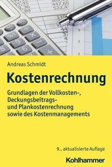 Andreas Schmidt: Kostenrechnung, Buch