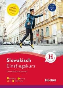 L'ubica Henßen: Einstiegskurs Slowakisch. Buch + 1 MP3-CD + MP3-Download + Augmented Reality App, Diverse