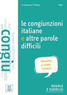 Silvia Consonno: Le congiunzioni e altre parole difficili (Niveau A1 bis C1), Buch