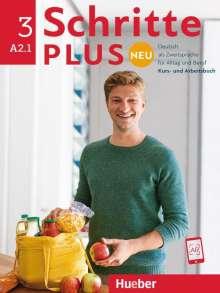 Daniela Niebisch: Schritte plus Neu 3. Kursbuch+Arbeitsbuch+CD zum Arbeitsbuch., Buch