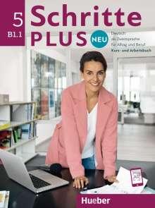 Silke Hilpert: Schritte plus Neu 5. Deutsch als Zweitsprache für Alltag und Beruf. Kursbuch + Arbeitsbuch + CD zum Arbeitsbuch, Buch