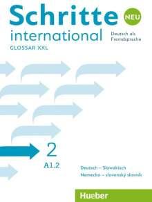 Schritte international Neu 2 / Glossar XXL Deutsch-Slowakisch - Nemecko-slovenský slovník, Buch