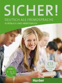 Michaela Perlmann-Balme: Sicher! C1/1. Kurs- und Arbeitsbuch mit CD-ROM zum Arbeitsbuch. Lektion 1-6, Buch