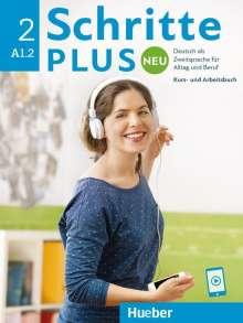 Monika Bovermann: Schritte plus Neu 2. Kursbuch+Arbeitsbuch+CD zum Arbeitsbuch, Buch