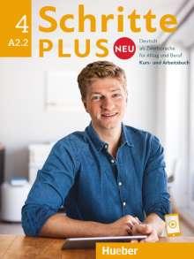 Silke Hilpert: Schritte plus Neu 4. Kursbuch + Arbeitsbuch + CD zum Arbeitsbuch, Buch
