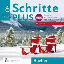 Silke Hilpert: Schritte plus Neu 6 - Österreich, CD