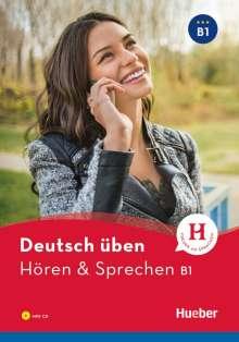 Anneli Billina: Deutsch üben Hören & Sprechen B1, Buch