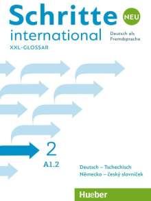 Schritte international Neu 2. Glossar XXL Deutsch-Tschechisch - Nemecko-ceský slovnícek, Buch