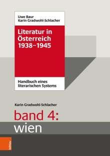 Karin Gradwohl-Schlacher: Literatur in Österreich 1938-1945, Buch