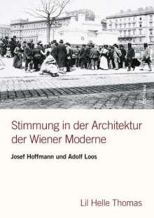 Lil Helle Thomas: Stimmung in der Architektur der Wiener Moderne, Buch