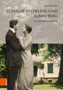 Daniel Ender: Zuhause bei Helene und Alban Berg, Buch