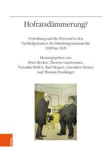 Hofratsdämmerung?, Buch