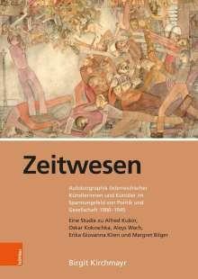 Birgit Kirchmayr: Zeitwesen, Buch