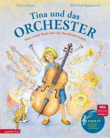 Marko Simsa: Tina und das Orchester, Buch