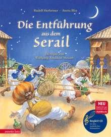 Rudolf Herfurtner: Die Entführung aus dem Serail mit CD, Buch