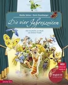 Marko Simsa: Die vier Jahreszeiten. Mit CD, Buch