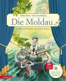 Marko Simsa: Die Moldau, Buch