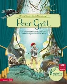 Marko Simsa: Peer Gynt, Buch