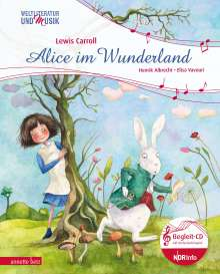 Henrik Albrecht: Alice im Wunderland, Buch