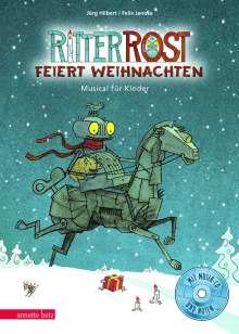 Jörg Hilbert: Ritter Rost 7: Ritter Rost feiert Weihnachten, Buch