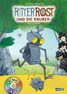 Jörg Hilbert: Ritter Rost 9: Ritter Rost und die Räuber, Buch