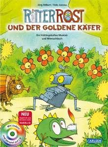 Jörg Hilbert: Ritter Rost: Ritter Rost und der goldene Käfer, Buch