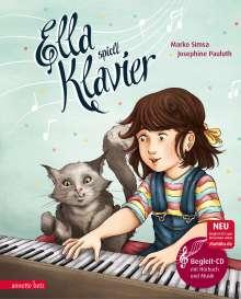 Marko Simsa: Ella spielt Klavier, Buch