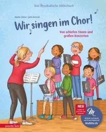 Marko Simsa: Wir singen im Chor! (Das musikalische Bilderbuch mit CD), Buch