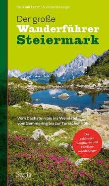 Reinhard Lamm: Der große Wanderführer Steiermark, Buch