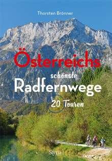 Thorsten Brönner: Österreichs schönste Radfernwege, Buch