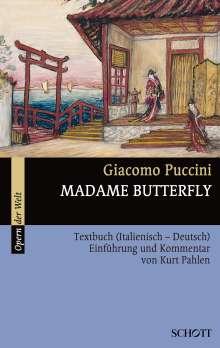 Madame Butterfly, Noten