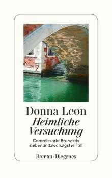Donna Leon: Heimliche Versuchung, Buch