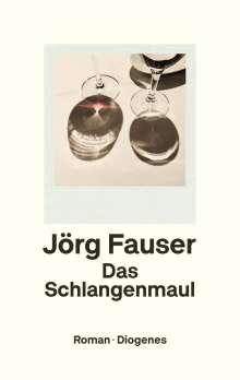 Jörg Fauser: Das Schlangenmaul, Buch