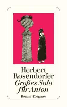 Herbert Rosendorfer: Großes Solo für Anton, Buch