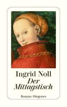Ingrid Noll: Der Mittagstisch, Buch