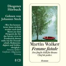 Martin Walker: Femme fatale, 8 CDs