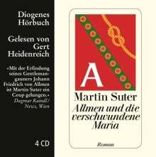 Martin Suter: Allmen und die verschwundene Maria, 4 CDs