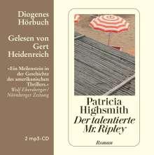 Patricia Highsmith: Der talentierte Mr. Ripley, 2 CDs