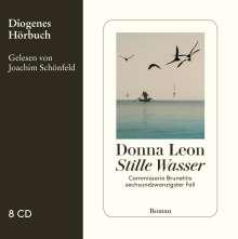 Donna Leon: Stille Wasser, 8 CDs