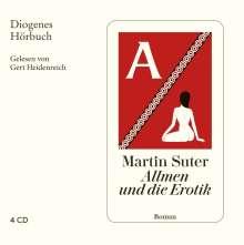 Martin Suter: Allmen und die Erotik, 4 CDs